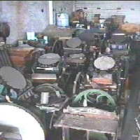 A variety of machines and artefacts