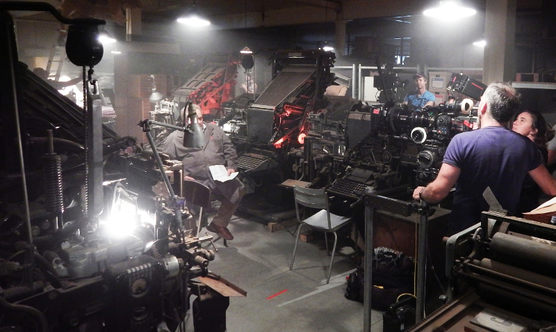 The Linotype Video Clip